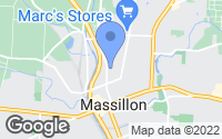 Map of Massillon, OH