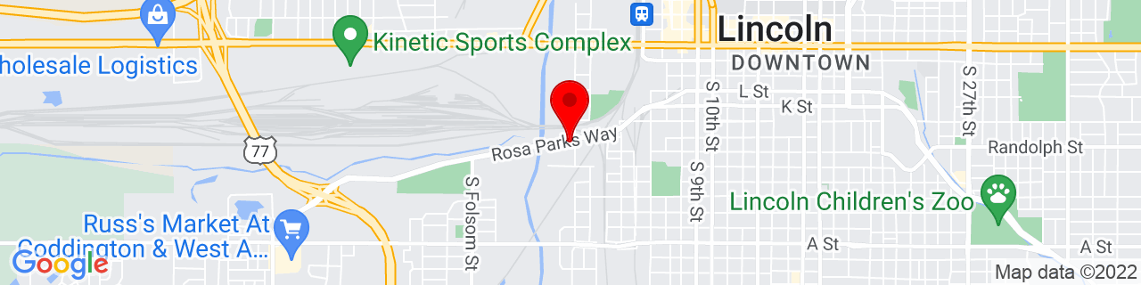 Google Map of 40.806555, -96.72077
