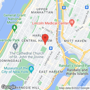 Map of Bed Bath & Beyond at 5 West 125th Street, New York, NY 10027