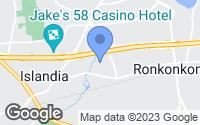 Map of Ronkonkoma, NY