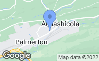 Map of Palmerton, PA