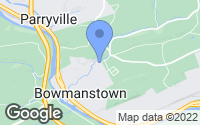 Map of Bowmanstown, PA