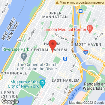 Map of American Eagle Store at 100 West 125th Street, New York, NY 10027