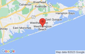 Map of Westhampton Beach