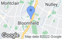 Map of Bloomfield, NJ