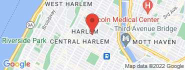 Map of Harlem Hookah