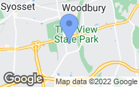 Map of Woodbury, NY