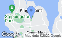 Map of Kings Point, NY
