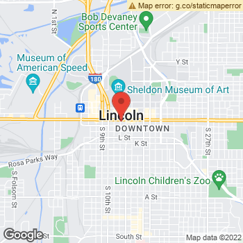 Map of Dr. Laura Bokemper, Optometrist, and Associates - O Street at 1201 O Street, Lincoln, NE 68508