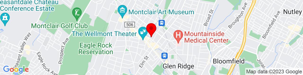 Google Map of 40.8133446, -74.213588