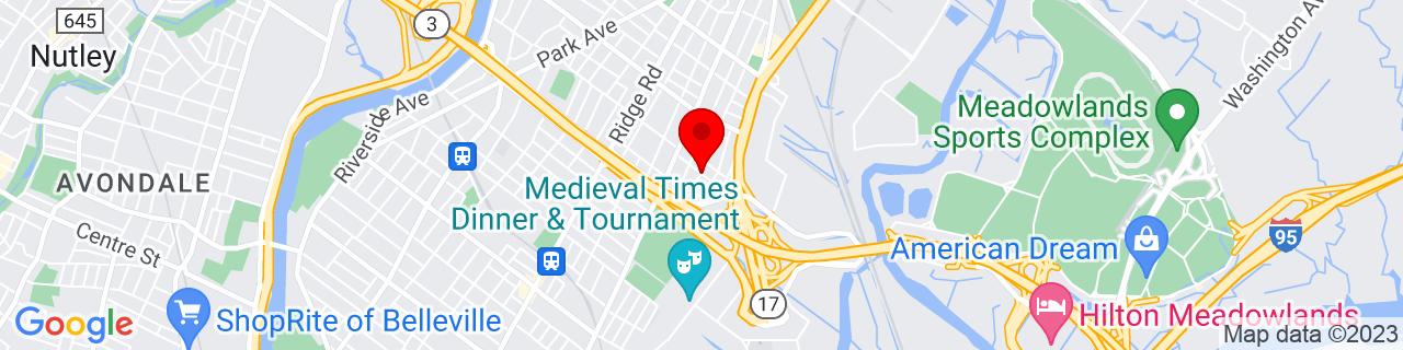 Google Map of 40.8152893, -74.1055202