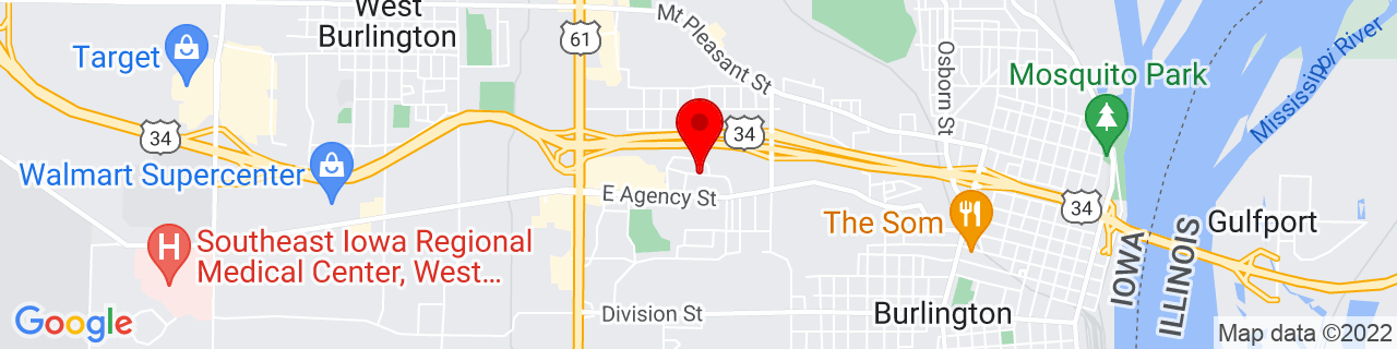 Google Map of 40.815861, -91.132041