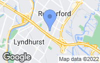 Map of Rutherford, NJ