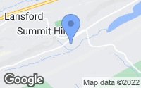 Map of Summit Hill, PA