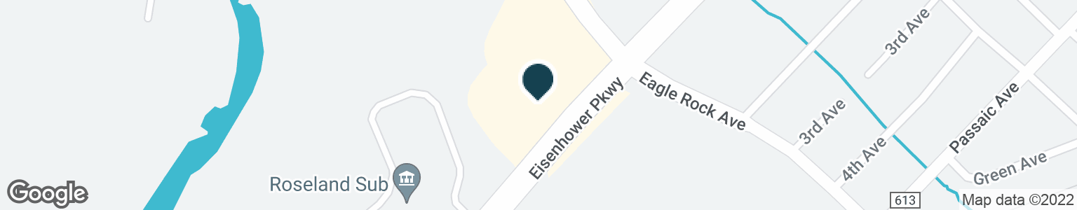 Google Map of45 EISENHOWER PKWY