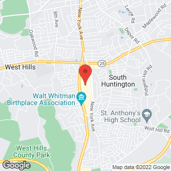 Mapa de Optimum en 160 Walt Whitman Rd, Huntington Station, NY 11746