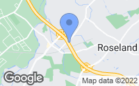Map of Roseland, NJ