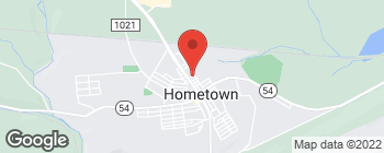 Map of 220 Claremont Ave in Tamaqua