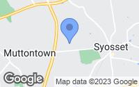 Map of Syosset, NY