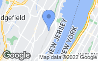 Map of Fort Lee, NJ