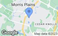 Map of Morris Plains, NJ