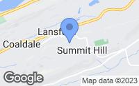 Map of Summit Hill, PA