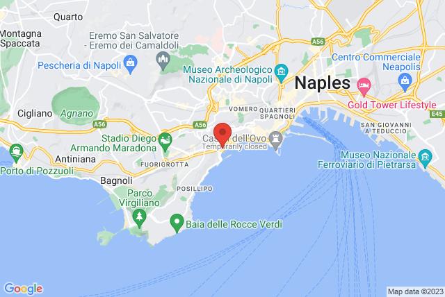 Pilates Suite Napoli Map