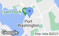 Map of Port Washington, NY