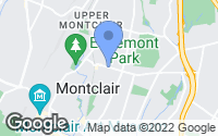 Map of Montclair, NJ