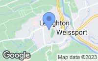 Map of Lehighton, PA