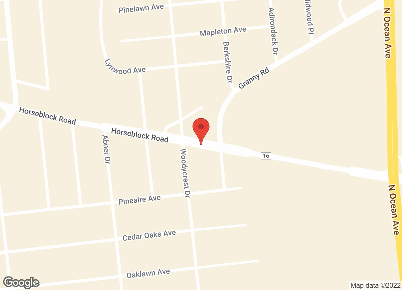 Google Map of VCA Farmingville Animal Hospital
