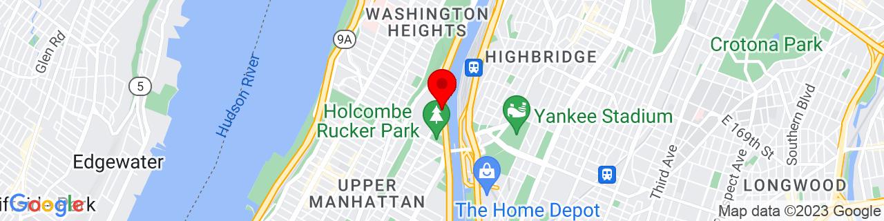 Google Map of 40.8318827, -73.9354139