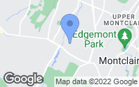 Map of Verona, NJ