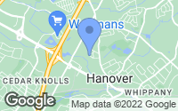 Map of Hanover, NJ