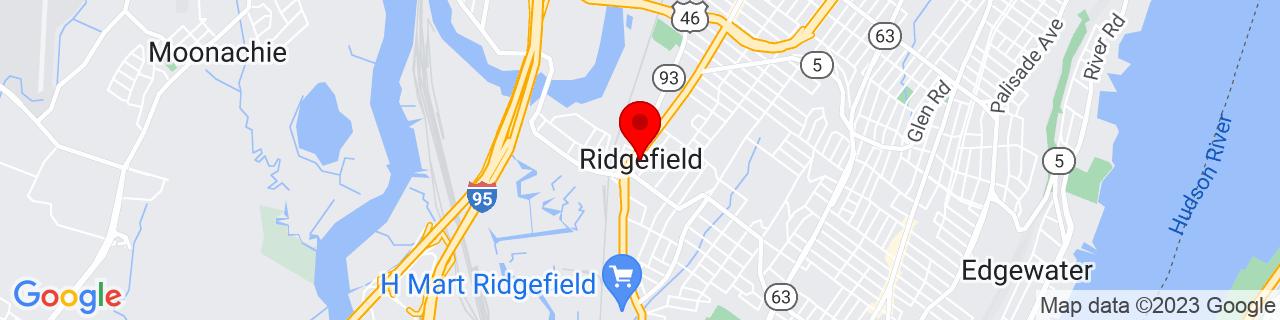 Google Map of 40.83416666666667, -74.00888888888889