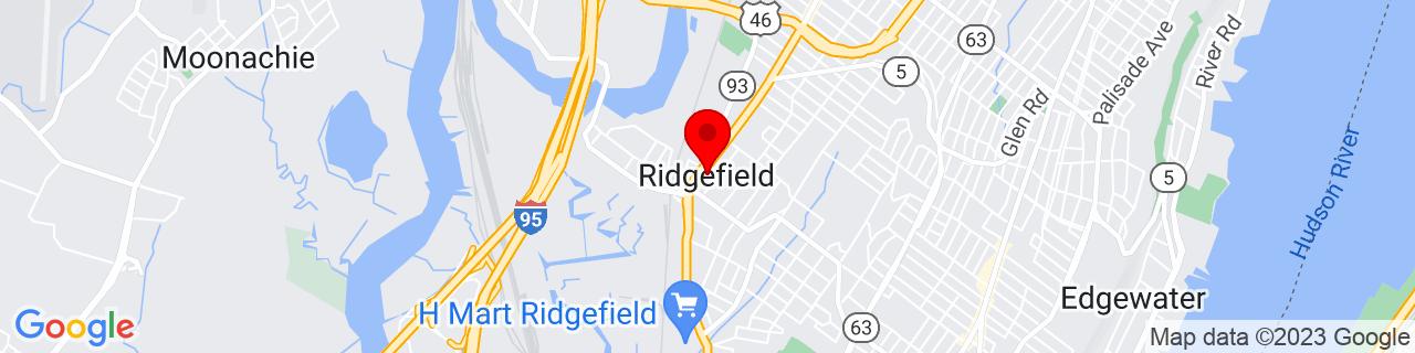 Google Map of 40.8342669, -74.00875049999999