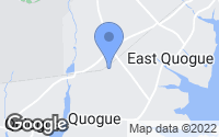Map of Quogue, NY