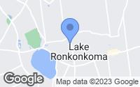 Map of Lake Ronkonkoma, NY