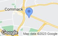 Map of Commack, NY