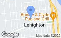 Map of Lehighton, PA