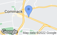 Map of Commack, NY