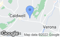 Map of North Caldwell, NJ