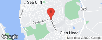 Mapa de 347 Glen Cove Ave en Sea Cliff