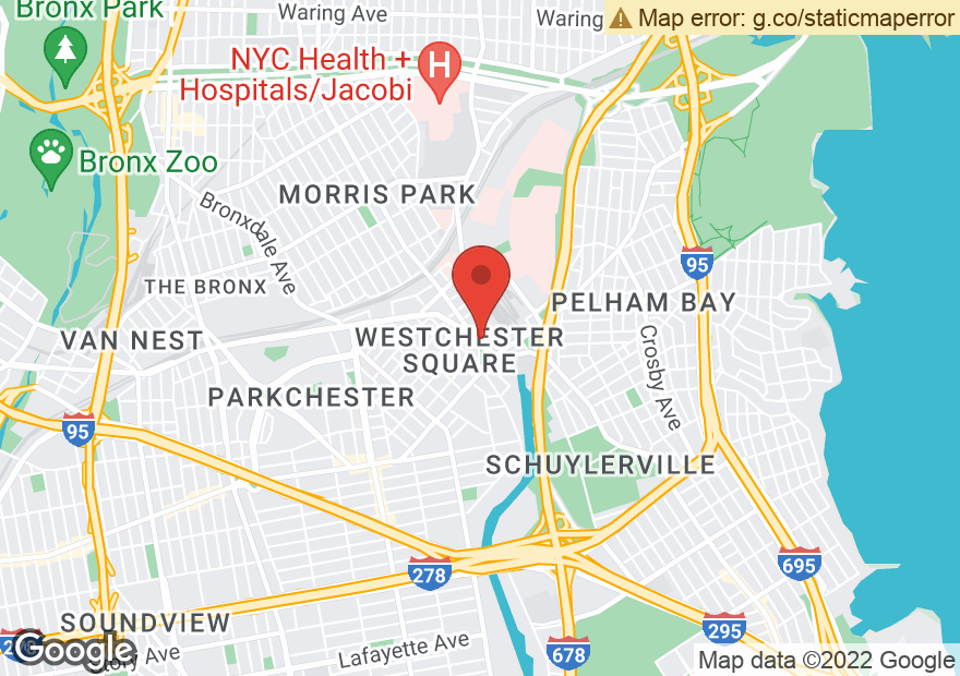 Google Map of 55 WESTCHESTER SQ