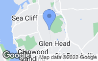 Map of Glen Head, NY