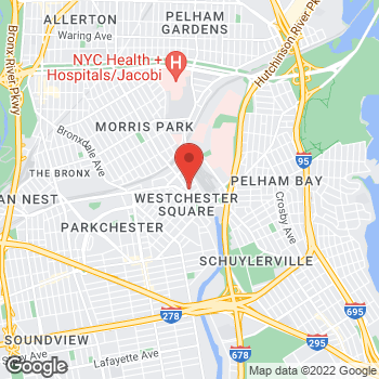 Map of Total Wireless Store at 1422 Williamsbridge Rd, Bronx, NY 10461
