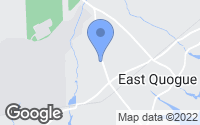 Map of East Quogue, NY