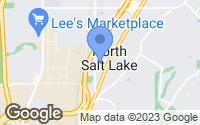 Map of North Salt Lake, UT