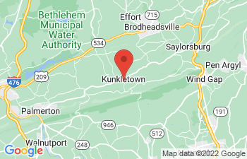 Map of Kunkletown