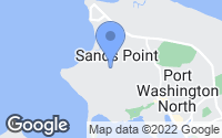 Map of Sands Point, NY